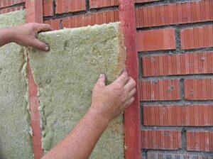 Утепление фасада своими руками минеральной ватой